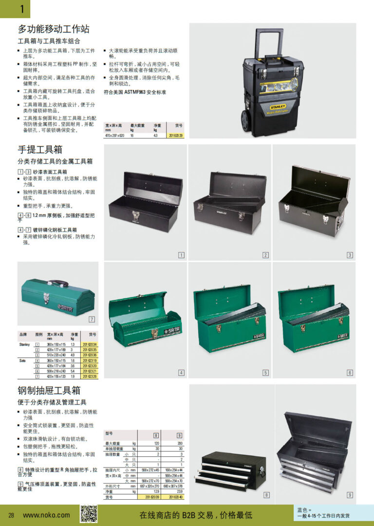 NOKO 手工具 工具箱