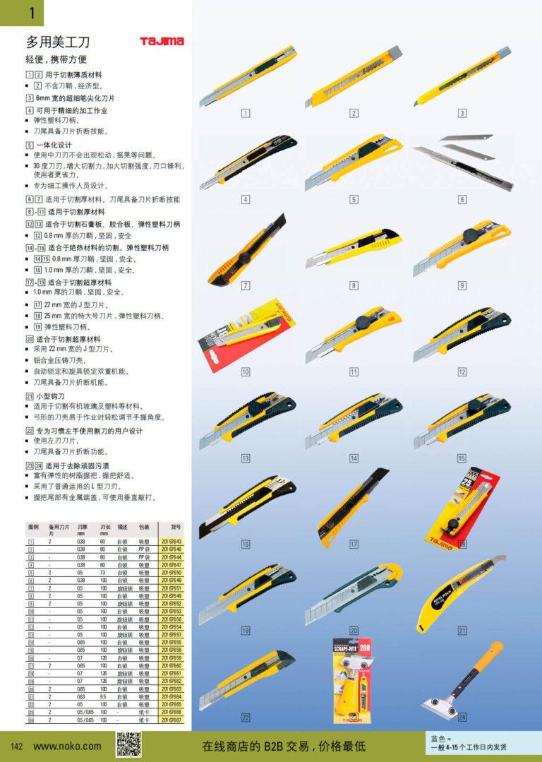 NOKO 手工具 刀