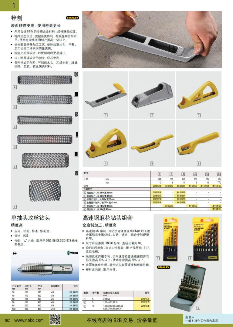 NOKO 手工具 锉刨 开孔套丝器