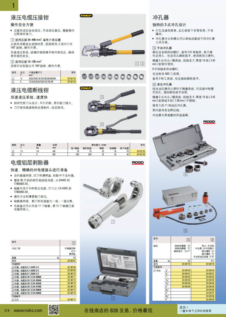 NOKO 手工具 电力工具