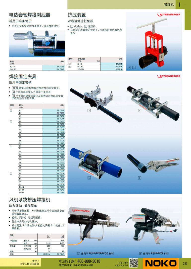 NOKO 手工具 管焊机