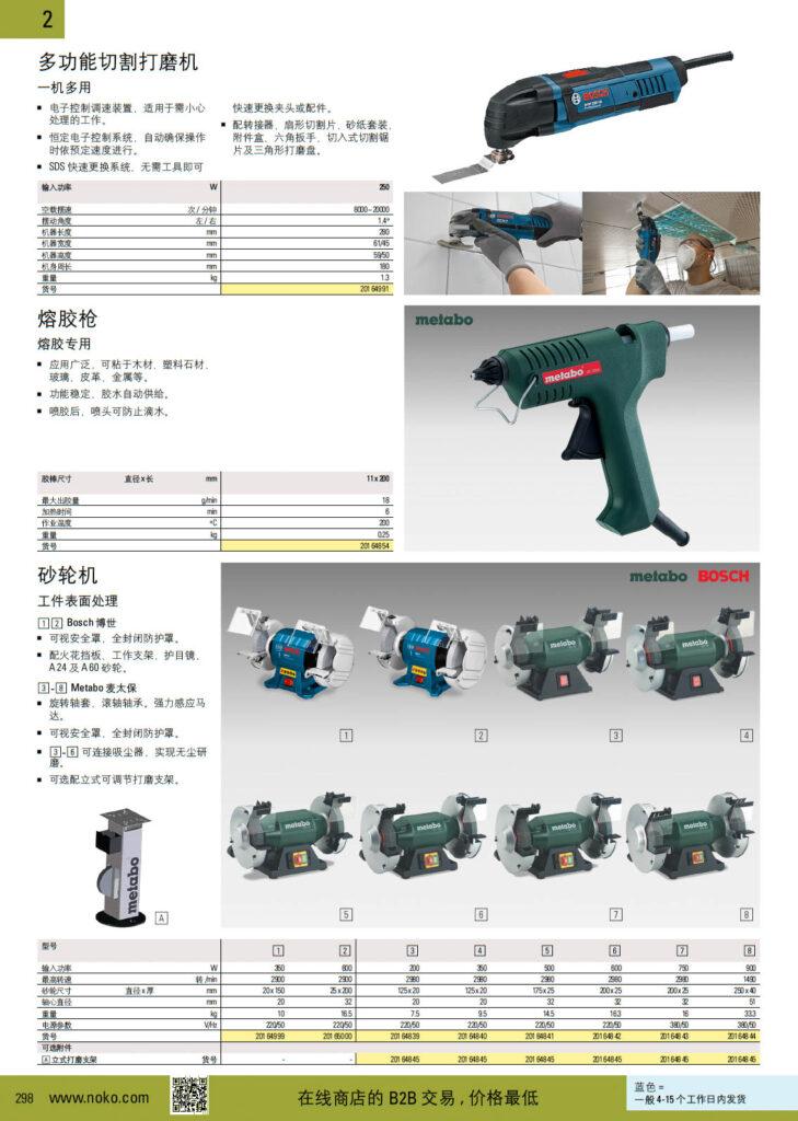 NOKO 动力工具 打磨机 热风枪 博世