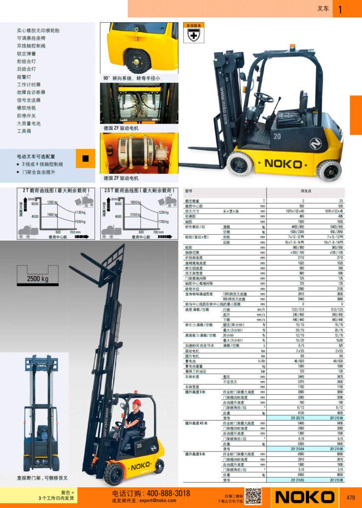 NOKO 工业车辆 叉车