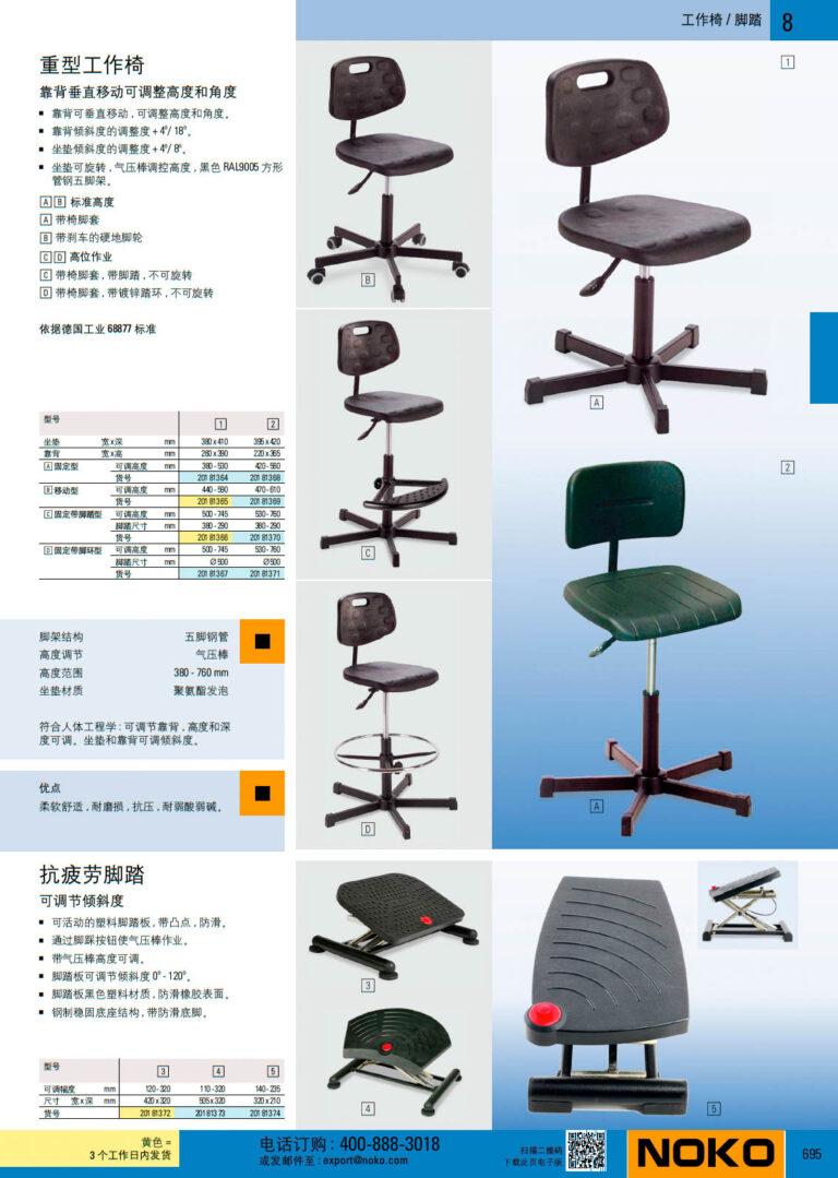 NOKO 工位器具 工作椅 脚踏