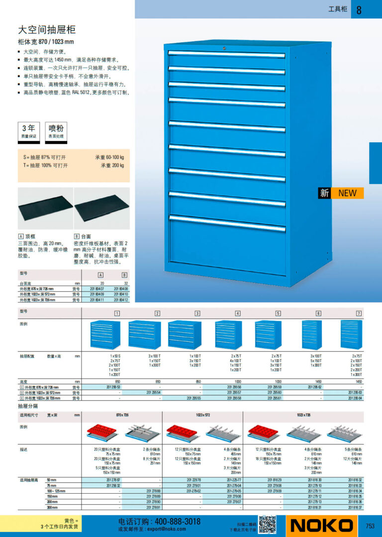 NOKO 工位器具 工具柜