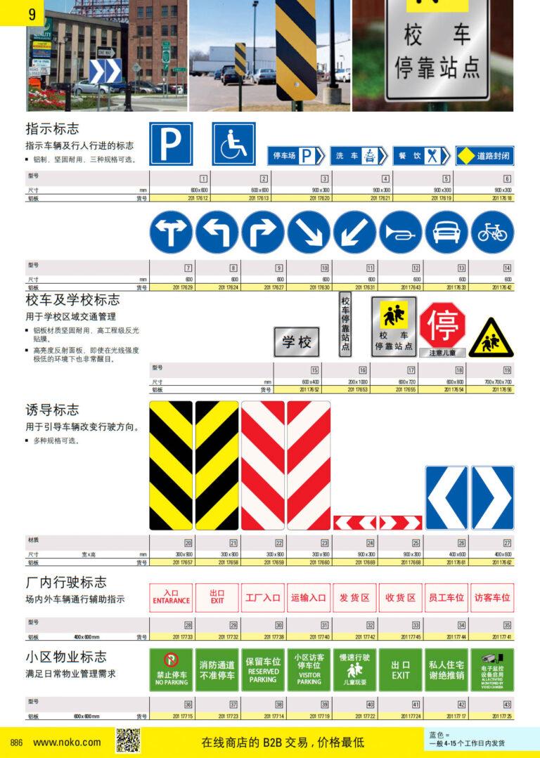 NOKO 安全 交通标志