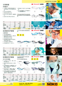 NOKO 个人防护救援 安全眼镜 3M