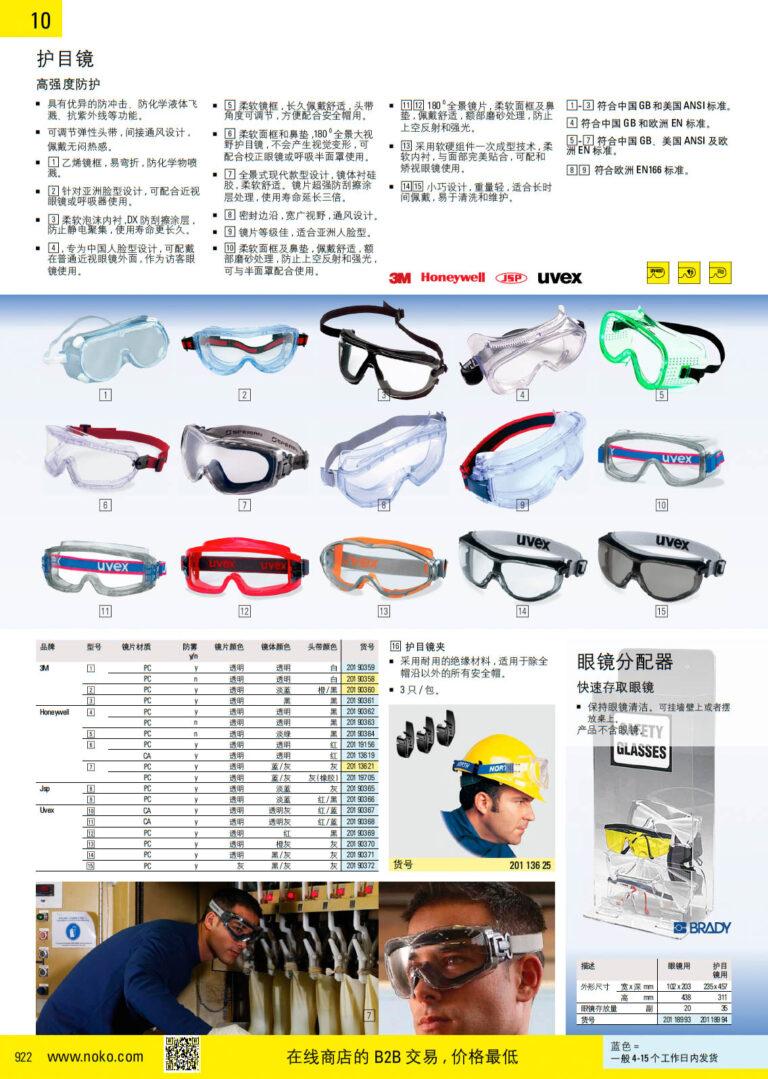 NOKO 个人防护救援 护目镜 眼镜附件 3M