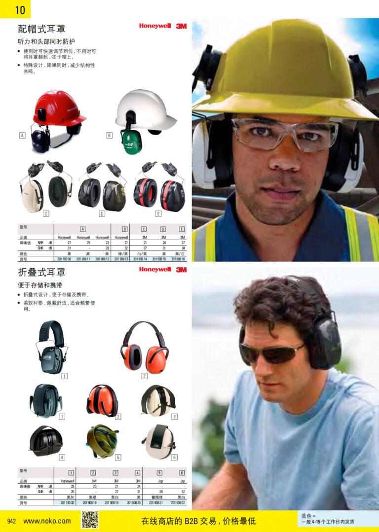 NOKO 个人防护救援 耳罩 3M