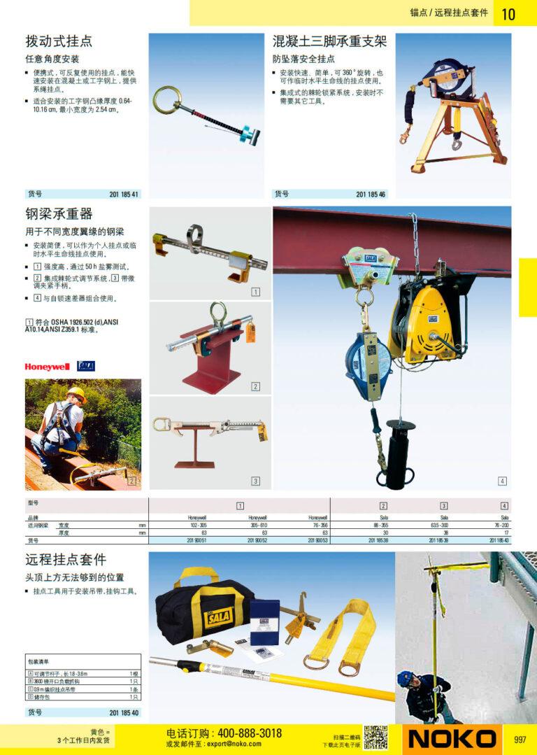 NOKO 个人防护救援 锚点 远程挂点套件