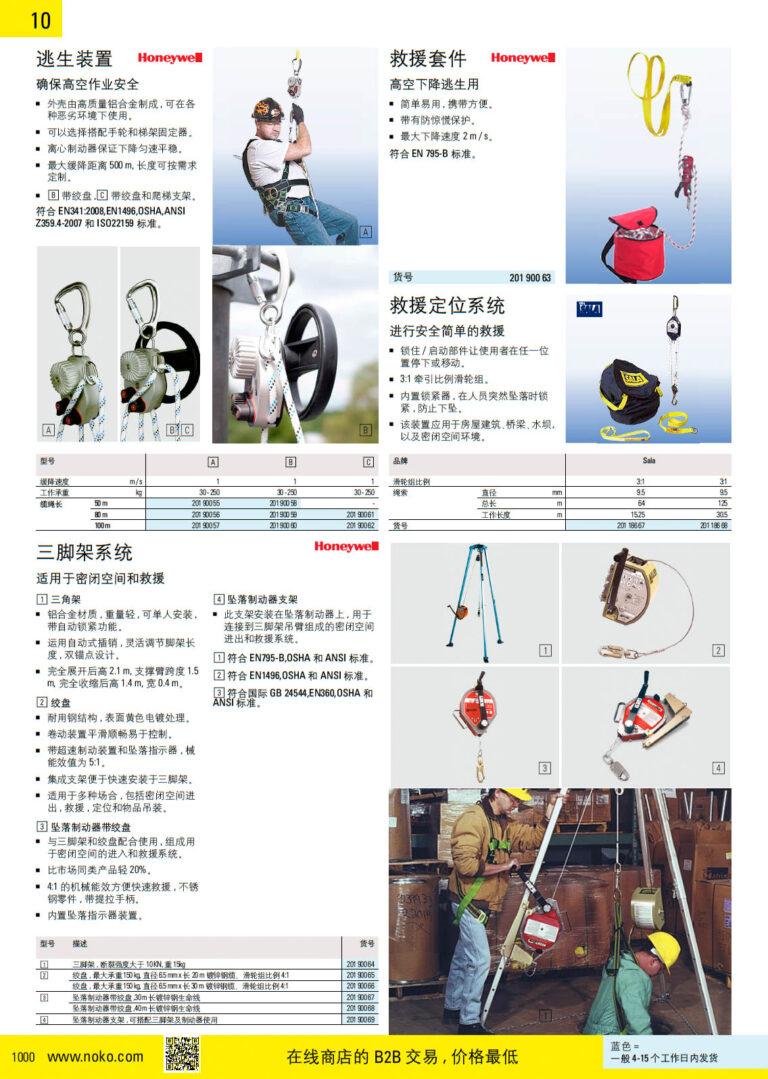 NOKO 个人防护救援 逃生装置 救援装置