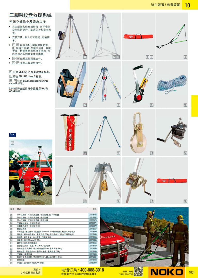 NOKO 个人防护救援 救援装置