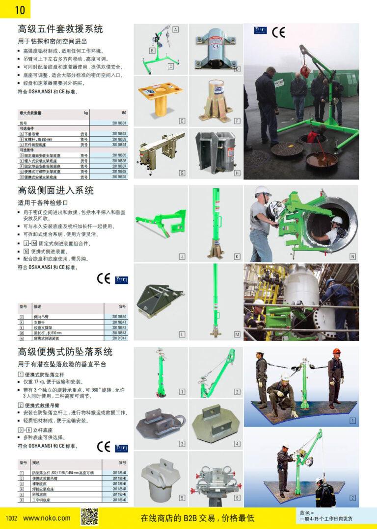 NOKO 个人防护救援 救援装置 防坠系统