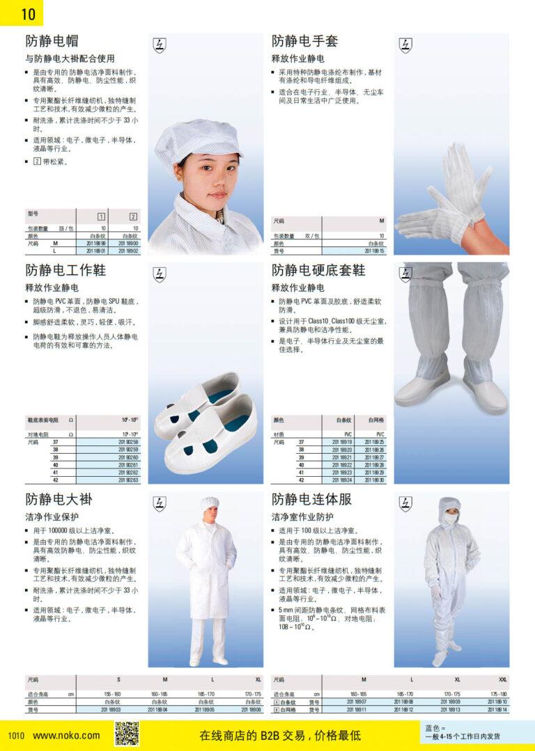 NOKO 个人防护救援 防静电用品