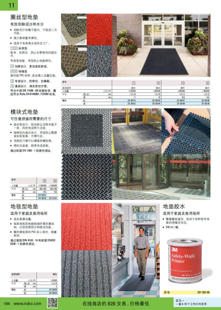 NOKO 清洁设备及用品 地垫